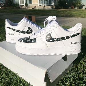 Louis Vuitton Nike Air Force 1 shoes for Sale in Los Angeles, CA