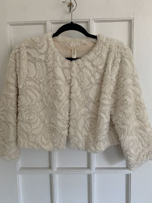 Faux Fur Cropped Jacket for Sale in Queens, NY