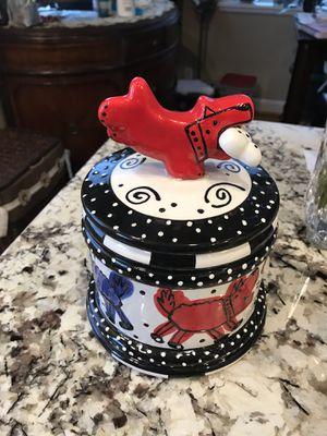 Decorative, Fun Dog Treat Jar for Sale in Arlington, VA