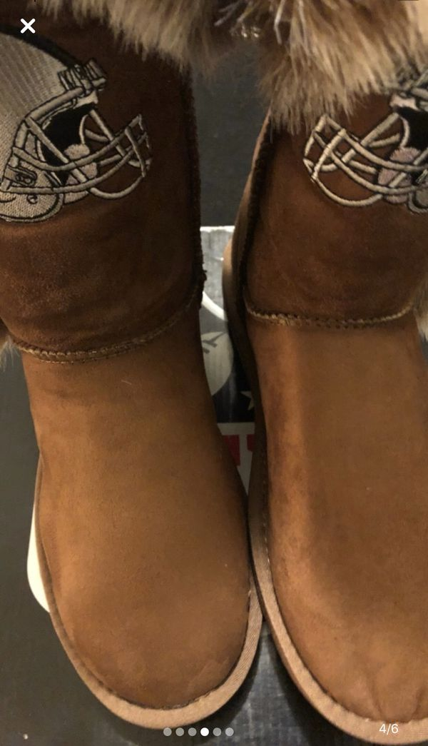 Women's Raider Leather Boots (SIZE 9)