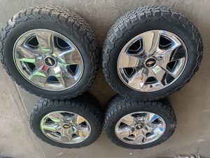"2013"" CHEVY-GMC- stock rims tires for Sale in El Paso, TX"