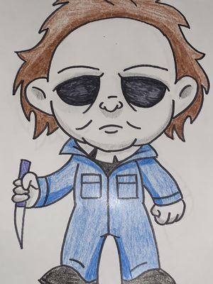 Free Michael Myers Halloween drawing for Sale in City of Industry, CA