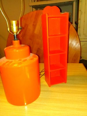 Lamp and mini-shelf set for Sale in Olney, MD