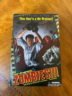Zombies!! Board game for Sale in Rialto, CA