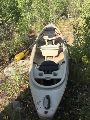 Canoe - Mad River- Passage 14- with removable outriggers for Sale in Denver, CO