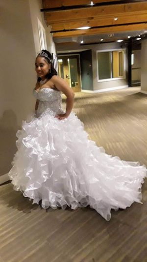 Wedding or sweet fifteen dress for Sale in Andover, MA