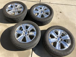 """Ford F-150 Platinum 20"""" Wheels and Tires for Sale in Apex, NC"""