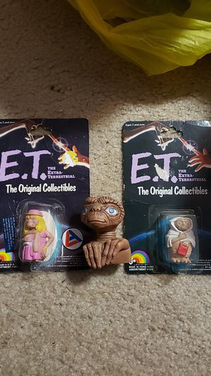 E.T. the Extraterrestrial Figures for Sale in Citrus Heights, CA