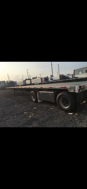 Flatbed 2013 utility trailer 48 ft for Sale in Schiller Park, IL