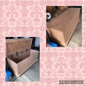 Chest, Bench, Storage Box for Sale in Moreno Valley, CA