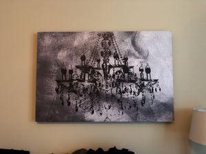 Canvas Art-Chandelier for Sale in Atlanta, GA