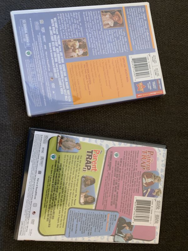 Parent trap and Pollyanna movie sealed new