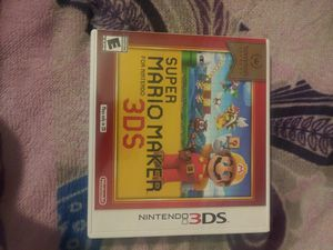 Super mario maker for Sale in Cypress, CA