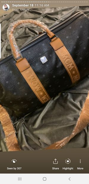 MCM DUFFLE BAG XXXL for Sale in Temple City, CA