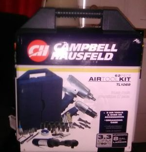 Campbell Hausfeld 62 Piece Air Tool Kit for Sale in Camden, NJ
