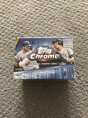 2020 Topps Chrome Blaster Box New for Sale in Herndon, VA