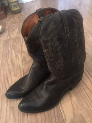 Lucchese size 15 men's boots for Sale in Dallas, TX