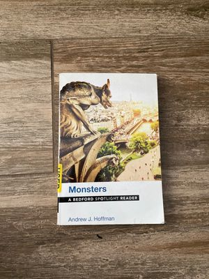 Monsters by Andrew J. Hoffman Used Paperback Book for Sale in West Hollywood, CA