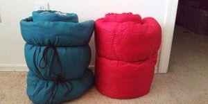 2 sleeping bags, 1 Coleman, 1 Winnebago for Sale in Apache Junction, AZ