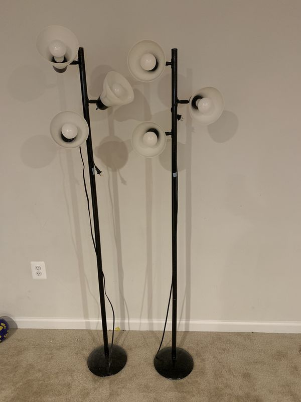 Three Light Floor Lamp