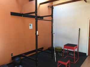 Folding Wall Squat Rack for Sale in San Francisco, CA