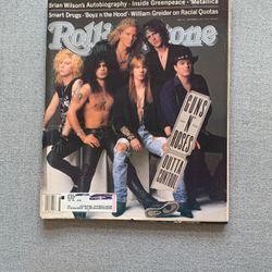 Guns N' Roses - Rolling Stone Magazine Issue #612 - 1991 for Sale in Herriman,  UT