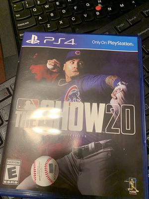 MLB The Show 20 PS4 for Sale in Cromwell, CT