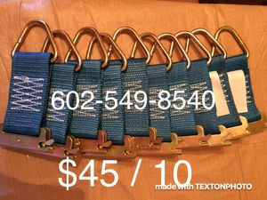 E Track Ties - New - $45 / 10 - 43 ave / Cactus for Sale in Phoenix, AZ