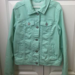 Mint Color Girls Jacket Size 10/12 for Sale in Sammamish, WA