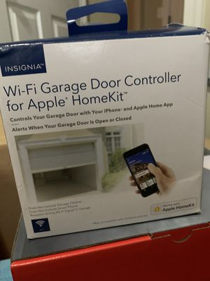 Insignia Wi-fi Garage Door Controller For Apple Homekit for Sale in Charlotte, NC