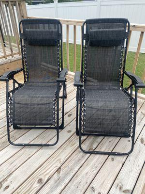 Zero Gravity patio chairs for Sale in La Vergne, TN