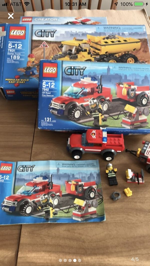 Lego lot complete