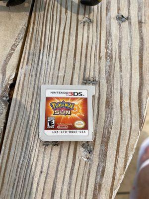 Nintendo 3DS Pokémon sun game for Sale in Miami, FL