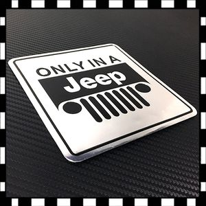 Jeep only in a Jeep decals sticker racing wrangler TJ YJ grand Cherokee aluminiu for Sale in Monterey Park, CA