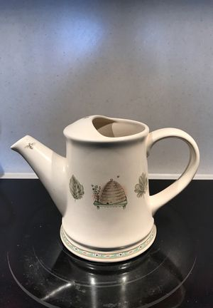 Pfaltzgraff Naturewood Watering Can Pitcher for Sale in Knoxville, MD