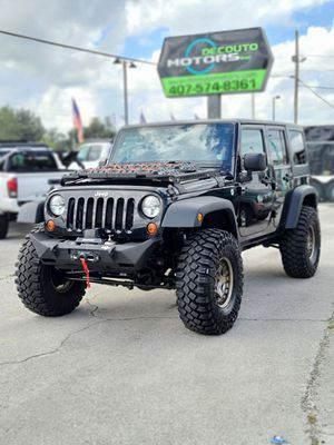 2012 Jeep Wrangler Unlimited 4WD for Sale in Orlando, FL