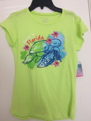 NWT Girls Green turtle shirt for Sale in Tampa, FL