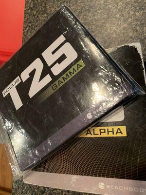 T25 Alpha, Beta & Gamma Set for Sale in Braselton, GA