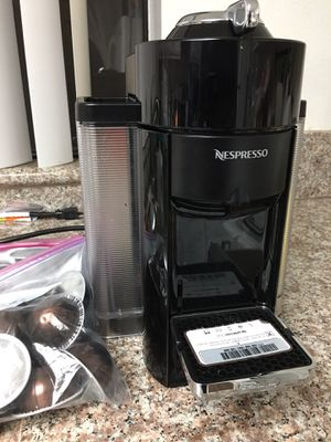 Nespresso cafe makes the best fresh coffee and espresso's comes with intenso and voltesso ground coffee cups easy to pop in for Sale in Los Angeles, CA