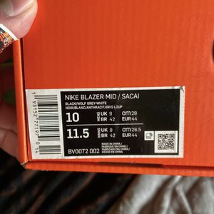 Sacai Blazer Mid Grey for Sale in Ontario, CA