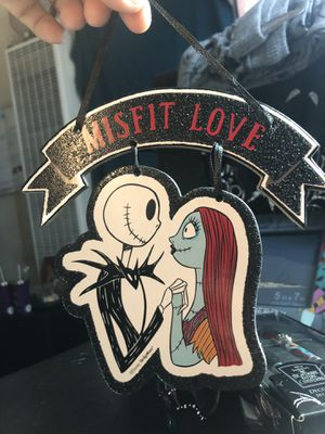 The Nightmare Before Christmas Misfit love Sign for Sale in San Diego, CA