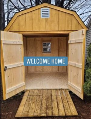 New 8' x 8' T1-11 Gambrel Shed for Sale in TAUNTON, MA