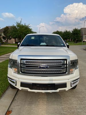2014 Ford F-150 Platinum. for Sale in Richmond, TX