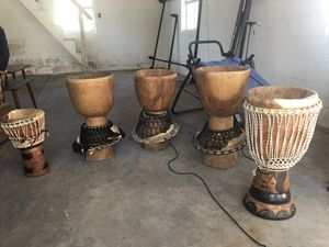 5 bongo drums (need to be reskined) best offer for Sale in New Bern, NC