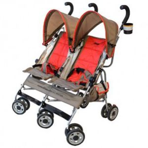 Jeep twin double stroller wrangler sport just $25 like new. for Sale in Fullerton, CA