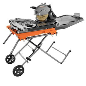 Ridgid 10 in. Wet Tile Saw with Stand for Sale in Brockton, MA