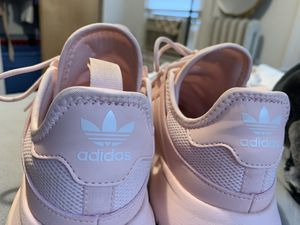 Baby Pink Adidas for Sale in Chicopee, MA