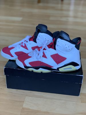 Jordan retro 6 cdp carmine for Sale in Reston, VA