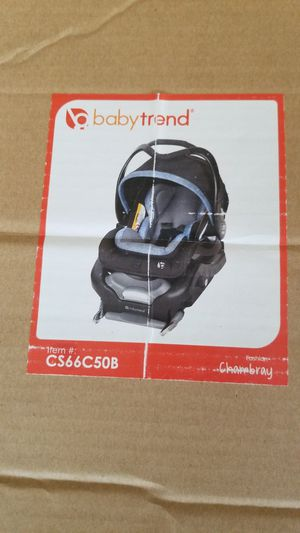 Babytrend secure snaptech 35 baby car seat. NEW for Sale in Los Angeles, CA