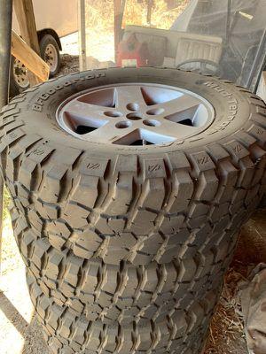 Jeep JK takeoff wheels BFG tires for Sale in Los Angeles, CA